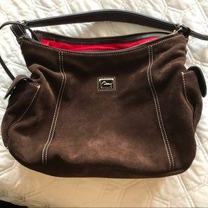 Handbags - NWOT Dooney suede purse